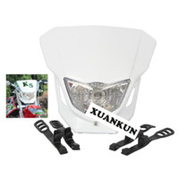 Wholesale Headlamp Small - Motorcycle Modified Accessories New X2 T4 T8 CQR, GY KTM Cabbage Small Game Modified Headlamps