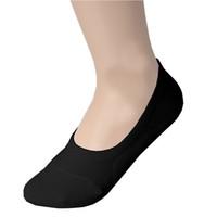 мужские спортивные носки оптовых-Wholesale-New Fashion Mens Sports Invisible Low Cut Cotton Ankle Short Boat Stocking Socks