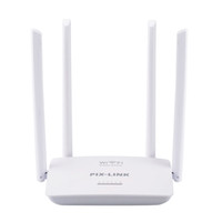 Wholesale Rj45 Extender - 300Mbps Wireless WiFi Router With 4 Antennas English Firmware Wi-fi Repeater Extender 5 Ports RJ45 802.11N Easy Setup PIXLINK WR08