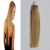 # 12 Light Golden Brown Straight Loop Micro Ring Hair 1g / strand 50s / pack 50g micro loop extensões de cabelo humano 4b 4c