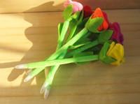 gül noktası toptan satış-Yaratıcı Yenilik Peluş Güller çiçek Kalem / Tükenmez Kalem / Kırtasiye / OfisÜst Topu Kalem