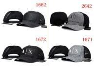 bonés de beisebol raros venda por atacado-Nova moda rara AX chapéus Marca Centenas Tha Alunos Strap Back Cap homens mulheres osso snapback painel Ajustável Casquette esporte boné de beisebol de golfe