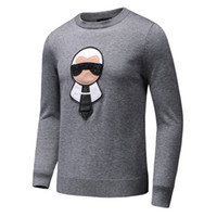 Wholesale Top Pullover Sweaters Styles - Top Italian Brand GC Men Sweaters Autumn Winter cotton knitwear Luxury Famous Long-sleeve Woolen sweater 3D Design M-3XL big SIZE