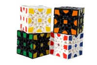 Wholesale gears plastic puzzles resale online - Education D Cube Puzzle Magic Cube x x Gears Rotate Puzzle Sticker Adults Child s Educational Toy Cube