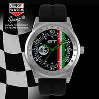 Wholesale Pins Drivers - GT WATCH Extreme Driver GT Racing Sports Men Militray Pilot Relojes Silicone Strap Quartz Wristwatch Fashion Trend Watch