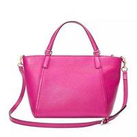 nylon messenger bag frauen großhandel-Frauen Handtasche Crossbody Messenger Bag Tote Geldbörse mit Quaste weiches Leder gute Qualität Umhängetasche 369176