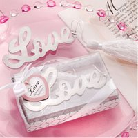 Wholesale alloy books online - Creative Love Shape Alloy Silver Bookmark Novelty Stationery Fashion Book Marker Wedding Gifts Exquisite Party Favors tzd F R
