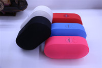 Wholesale new speakers pill resale online - New Mini Pill BT808Q Pill Speaker Wireless Bluetooth Stereo Subwoofers Speaker Support TF USB Hands free