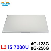 Wholesale Dual Core 15 Laptop - Partaker L3 Laptops Computer I5 7200U 15.6 inch Windows10 1920*1080 DDR4 4GB RAM 128GB M.2 SSD dual-core Notebook PC BT4.0
