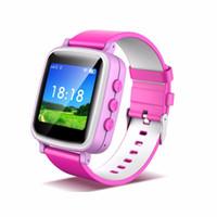 relojes de pulsera gsm al por mayor-DHL 2016 GPS Tracker Watch para niños Safe GPS Watch Q80 Q60 smart Wristwatch SOS Call Finder Locator Tracker Anti Lost Monitor GSM