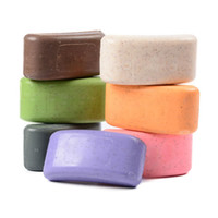 Wholesale Essences For Soaps - Volcanic Clay Shower Handmade Soap Nature Elements Organic Bath Soap Convenient Washing Hand Bath Pure Flower Plants Essence