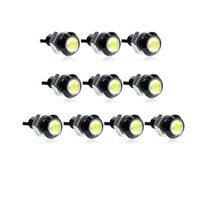 Wholesale 12v Eagle Eye Led Lights - Car styling 10pcs 18MM Led Eagle Eye DRL Daytime Running Lights Source Backup Reversing Parking Signal Lamps Waterproof Car led
