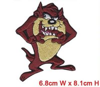Wholesale Embroidery Garment - free shipping finger thimble patch for garment creative cartoon patch computer embroidery badge iron on cloth welcome custom