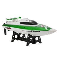 Wholesale battery toy boats online - Hot Sale RC Boat G CH Water Cooling System Self righting km h High Speed Racing RC Speedboat Ship Toys