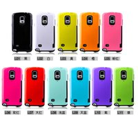 Wholesale Iface Case Galaxy Note - Wholesale iFace Hybrid 2 in 1 Hard PC+TPU Shockproof Card Case Holder Protector for iPhone 6 6S Plus 4.7 5.5 Samsung Galaxy Note 4