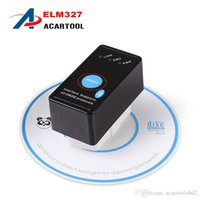 Wholesale Elm 327 Switch - Super Mini Bluetooth ELM327 V2.1 OBD2 Diagnostic Scanner With Power Switch Work on Android Symbian Windows ELM 327 Switch elm327