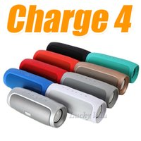 Nouvelle Charge 4 Haut-Parleur De Luxe Mobile Multimédia Sans Fil Bluetooth Haut-parleurs Portable En Plein Air Super Basse CHARGE 4 avec MP3 FM Radio