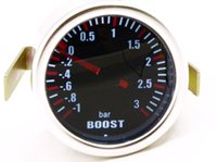 Atacado- 3,0 BAR MECÂNICA BOOST TURBO GAUGE SMOKE LEN 2