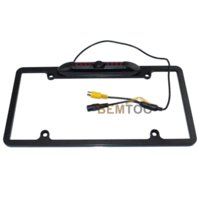 Wholesale Product Licensing - Free Shipping New Product Waterproof 8 IR Night Version American License plate frame car parking camera car rear view camera