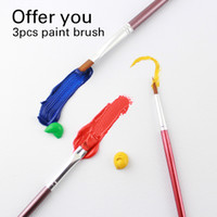 Wholesale art painting colors resale online - Paper High Quality Acrylic Paints Tube Set Nail Art Painting Drawing Tool For The Artists ml Colors Offer Paint Brushes For Free