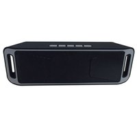 Wholesale Big Computer Speakers - 2017 New SC-208 Mini Portable Bluetooth Speakers Wireless Smart Hands-free Speaker Big Power Subwoofer Support TF and USB FM Radio