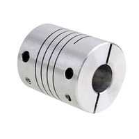 Wholesale 5mm 8mm Coupling Shaft - Wholesale- 5pcs 5*8mm Flex Shaft Coupling Diameter 18mm Length 25mm 5mm to 8mm Flexible Shaft Coupler