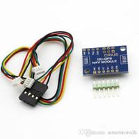 Wholesale Multiwii Gps - CRIUS MultiWii MWC I2C-GPS NAV Navigation plate Navigation Module GPS Board B00375 OSTH