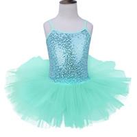 Wholesale Leotard Ballet Tutu For Girls - Girls Ballet Dress For Children Dance Clothing Kids Ballet Dresses For Girls Gymnastics Dance Tutu Leotard Girl Dancewear Kids