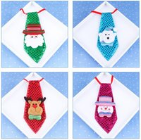 Wholesale Indoor School - Christmas decorations Fashion Bow Tie Christmas luminous bow tie Adult children school decorations Christmas creative small gifts JF-220
