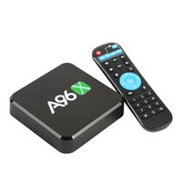 Wholesale Set Top Box Tv Tuner - A96 Android TV Box A96X Amlogic S905X Quad Core Smart Box TV Android  8GB with Wifi 4K1080p Set Top Box