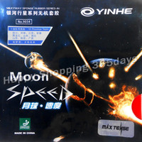 All'ingrosso- Yinhe Moon SPEED Max Tense pips in gomma da tavolo Rubber No Factory Tuned