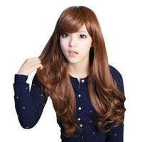 işlenmemiş bütünsel saç toptan satış-Tam Dantel Peruk Renk 4 # Düz saç Işlenmemiş Perulu Bakire İnsan Saç 100% Bebek Saç Ağartılmış Düğüm Ile Ombre Sarışın Tutkalsız düğüm Örgü