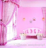 Wholesale graduation backdrop paintings resale online - Girl s Room x7ft Pink Computer Painted Vinyl Backdrops for Photography Children Wedding Photo Studio Cloth Background