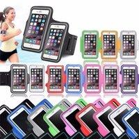 iphone 5s bant durumda toptan satış-Yeni Su Geçirmez Gym Spor Koşu Kol Bandı iphone 7 4 4 S 5 5 S 5C SE 6 6 s Artı iPod Dokunmatik 5 Kol Bandı Telefon Kılıfı Kılıf Kapak Tutucu DHL