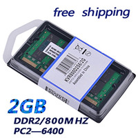 Wholesale Ddr2 Ram 2gb For Laptop - Brand New Sealed DDR2 800 Mhz 2GB PC2 6400 2GB 200pin (for all motherboard) laptop RAM Memory   Free Shipping!!!