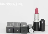 Wholesale new color names - free shipping! NEW 24 colors Matte lipstick have English name(24pcs lots)