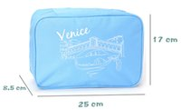 Wholesale venice hot - Hot Oxford 5 colors Venice Travel Cosmetic Makeup Toiletry Purse Pouch Organiser Hanging Women Bag ELB013