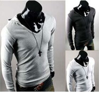 Wholesale Tshirts Slim Sleeve Mens - M-XXL 4 colors Mens tshirts fashion New brand Casual pullover Men Slim Fit Camisa Polo Men,Autumn Summer long Sleeve Shirt Cotton blend