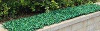 ingrosso tappeti erbosi artificiali-Simulazione 100pcsplastic stuoia di erba Crittografia artificiale tappeto di erba di plastica artificiale erba prato turf Riprese propsdecorations 60 cm * 40 cm