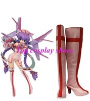 orchid shoes - Orchid Seed OrchidSeed Nana Imitated Leather Cosplay Shoes pink Ver New come hand made Custom made freeshipping