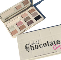 Wholesale white chocolate resale online - In stock New Chocolate Chip Eye Shadow colors Makeup Professional eyeshadow Palette White and Matte Makeup eyeshadow DHL shipping