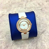 Wholesale Japan Roll - Top design Lady Wristwatch Gifts Accessories 15pcs DHL free Rolling Diamond Women watch Japan Movement High-grade aaa watches Drop shipping