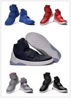 Wholesale Shoes Form - Wholesale Retro X Man 2016 Lab Hunter High Black White Five Colors Form Air Mag Trainers Shoes High Quality Size 5.5 11 Free Shipping
