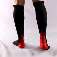 Wholesale Flight Socks - Long Tube Compression sports Socks for Unisex Circulation,Recovery Fit for Running Nurses,Maternity Pregnancy,Shin Splints,Flight Travel