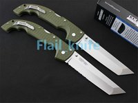Wholesale New Tanto Knife - New Cold Steel knife 2 modle 29UXTGH VOYAGER XL CTS XHP Tanto knife oversized Voyager series Survivor Custom Edition knife tools