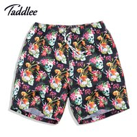 Wholesale Boxer Swim - Wholesale-Men's Board Shorts Swim Shorts Swim Boxer Trunks Men Swimming Swimwear Swimsuits Surf Shorts Running Sports Outdoor Casual Wear