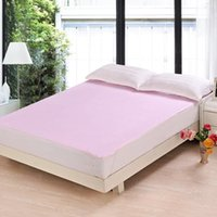 Wholesale King Bamboo Sheets - Bamboo Waterproof Bed Sheets 120*200 cmFull King Queen Twin Kids Size Bedding Set Mixed Size Available