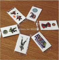 Wholesale Cartoon Waist - ALL Free Shipping! 3*5cm ECO-FREINDLE kids Cartoon custom decal security design adhesive henna Tattoo Stickers for children
