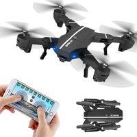 Wholesale Uav Drone Rc - RC Drone 8807W Foldable UAV with 0.3MP HD camera 2.4GHz Remote Control Selfie Drone Wifi FPV Quadcopter VS visuo XS809W XS809HW