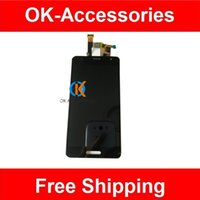 Wholesale Lg Optimus Screen - Black Color For LG Optimus GK F220K LCD Display +Touch Screen Digtizer 1PC  Lot Free Shipping